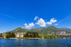 Tavernola na Como jeziorze, Włochy Fotografia Royalty Free