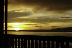 Taveuni - Sunset Stock Photo