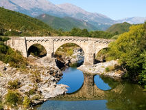 Tavignano gorges Royalty Free Stock Photography