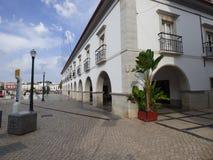 Tavira城镇厅 库存图片