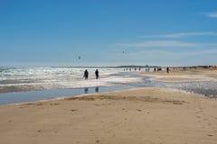 Tavira beach Royalty Free Stock Photo