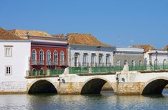 Tavira bridge Stock Photography