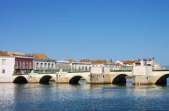 Tavira bridge Stock Photos