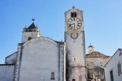 Tavira church Stock Photo