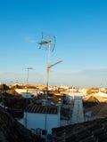Tavira roofs. Algarve, Portugal. Stock Images