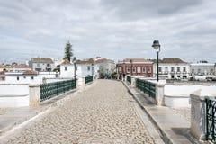 Tavira stad algarve Portugal Arkivbilder