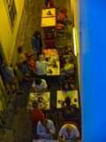 Tavira ulicy Portugal algarve Obrazy Stock