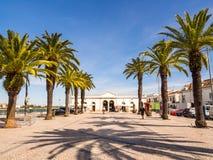 Tavira w Algarve regionie w południe Portugalia Obraz Stock