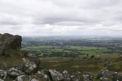 Tavistock看法从Dartmoor的 图库摄影