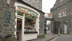 Tavistock England - Februari 11 2015: Tavistock är den huvudsakliga staden av den västra heden för Dartmoor ` s lager videofilmer