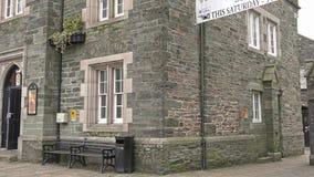 Tavistock, Inglaterra - 11 de febrero de 2015: Tavistock es la ciudad principal del ` s de Dartmoor occidental amarra almacen de metraje de vídeo