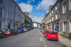 Tavistock is the main town of Dartmoor UK. Stock Photos