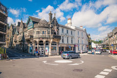 Tavistock is the main town of Dartmoor UK. Royalty Free Stock Photo