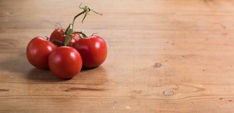 Tavola dei pomodori Fotografia Stock Libera da Diritti