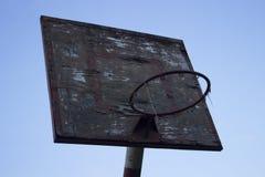 Tavola del canestro Fotografie Stock Libere da Diritti