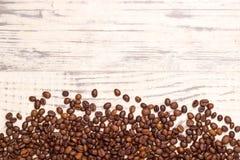 Tavola del chicco di caffè immagine stock