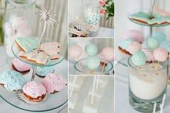 Tavola del dessert Immagine Stock