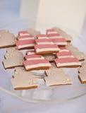 Tavola del dessert per una festa nuziale immagini stock libere da diritti