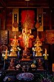 Tavola dell'altare di Buddha Fotografie Stock Libere da Diritti