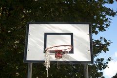 Tavola della palla del canestro Fotografie Stock Libere da Diritti