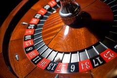 Tavola delle roulette Fotografia Stock Libera da Diritti