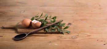 Tavola delle uova Immagine Stock Libera da Diritti