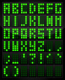 Tavola di alfabeto di Digital Fotografie Stock Libere da Diritti