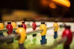 Tavola di calcio-balilla Fotografia Stock