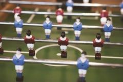 Tavola di calcio-balilla Fotografia Stock Libera da Diritti