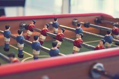 Tavola di calcio-balilla Fotografie Stock
