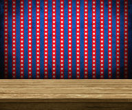 Tavola di legno Fotografia Stock