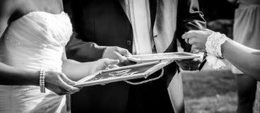 Tavola di nozze Immagini Stock Libere da Diritti