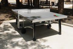 Tavola di ping-pong fotografia stock libera da diritti