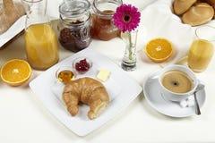 Tavola di prima colazione Fotografia Stock Libera da Diritti