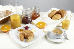 Tavola di prima colazione Fotografia Stock