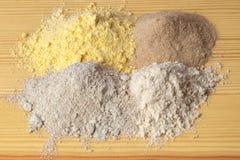 Tavola differente della farina Immagine Stock Libera da Diritti