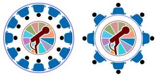 Tavola rotonda Fotografia Stock Libera da Diritti