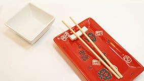 Tavola vuota dei sushi Fotografie Stock