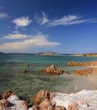 tavolara острова стоковое изображение rf