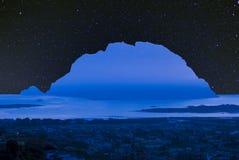 Tavolara blauw eiland Stock Afbeeldingen