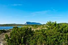 Tavolara - Lu Impostu - Puntaldia Foto de archivo libre de regalías