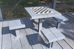 Tavole di scacchi Fotografia Stock