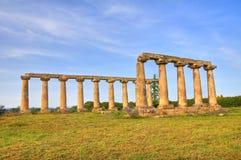 Tavole Palatine. Metaponto. Basilicata. Italy. Royalty Free Stock Photo