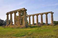 Tavole Palatine. Metaponto. Basilicata. Italy. Royalty Free Stock Photos