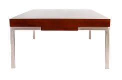 Tavolino da salotto contemporaneo isolato su bianco Immagini Stock Libere da Diritti