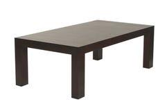 Tavolino da salotto di legno del Brown Immagini Stock