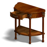 Tavolino da salotto storico di louis XV. Immagine Stock