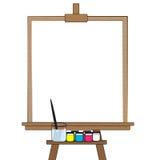 Tavolo da disegno Immagine Stock
