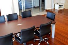 Spazio di ufficio della mobilia 3d illustrazione di stock for Mobilia spazio