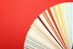 Tavolozza dei colori Immagini Stock Libere da Diritti